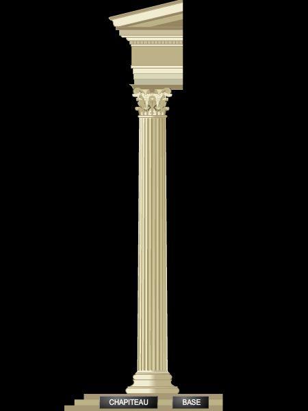 encyclop die larousse en ligne colonne latin columna. Black Bedroom Furniture Sets. Home Design Ideas