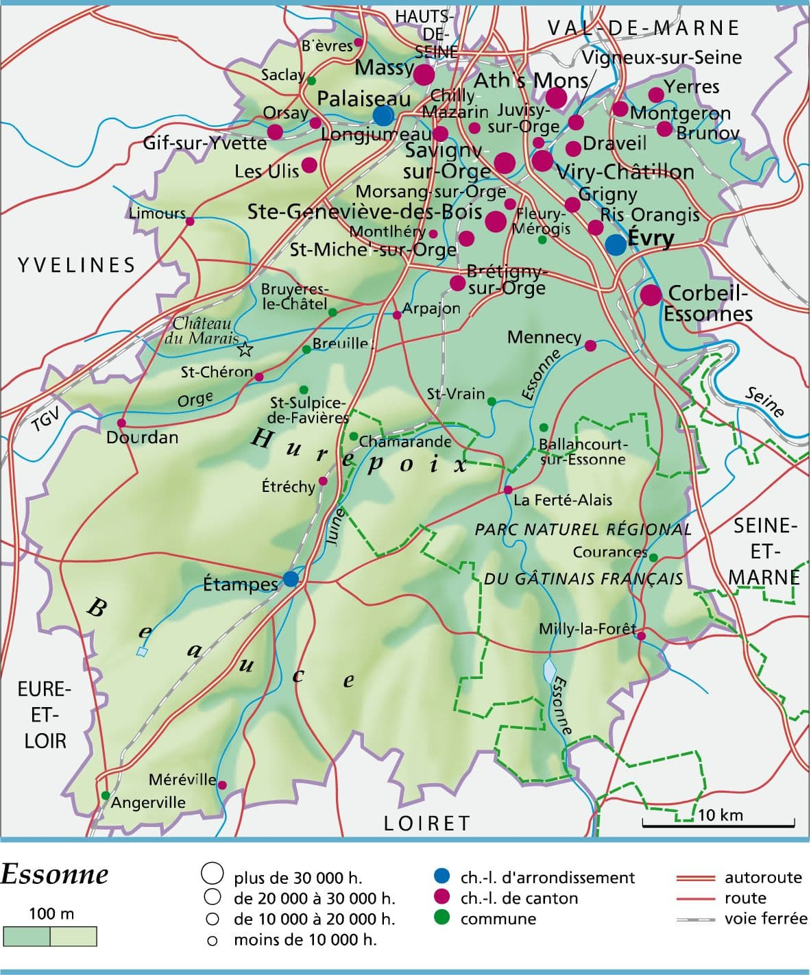 Carte Essonne Pdf.Encyclopedie Larousse En Ligne Essonne