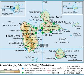 guadeloupe departement 971