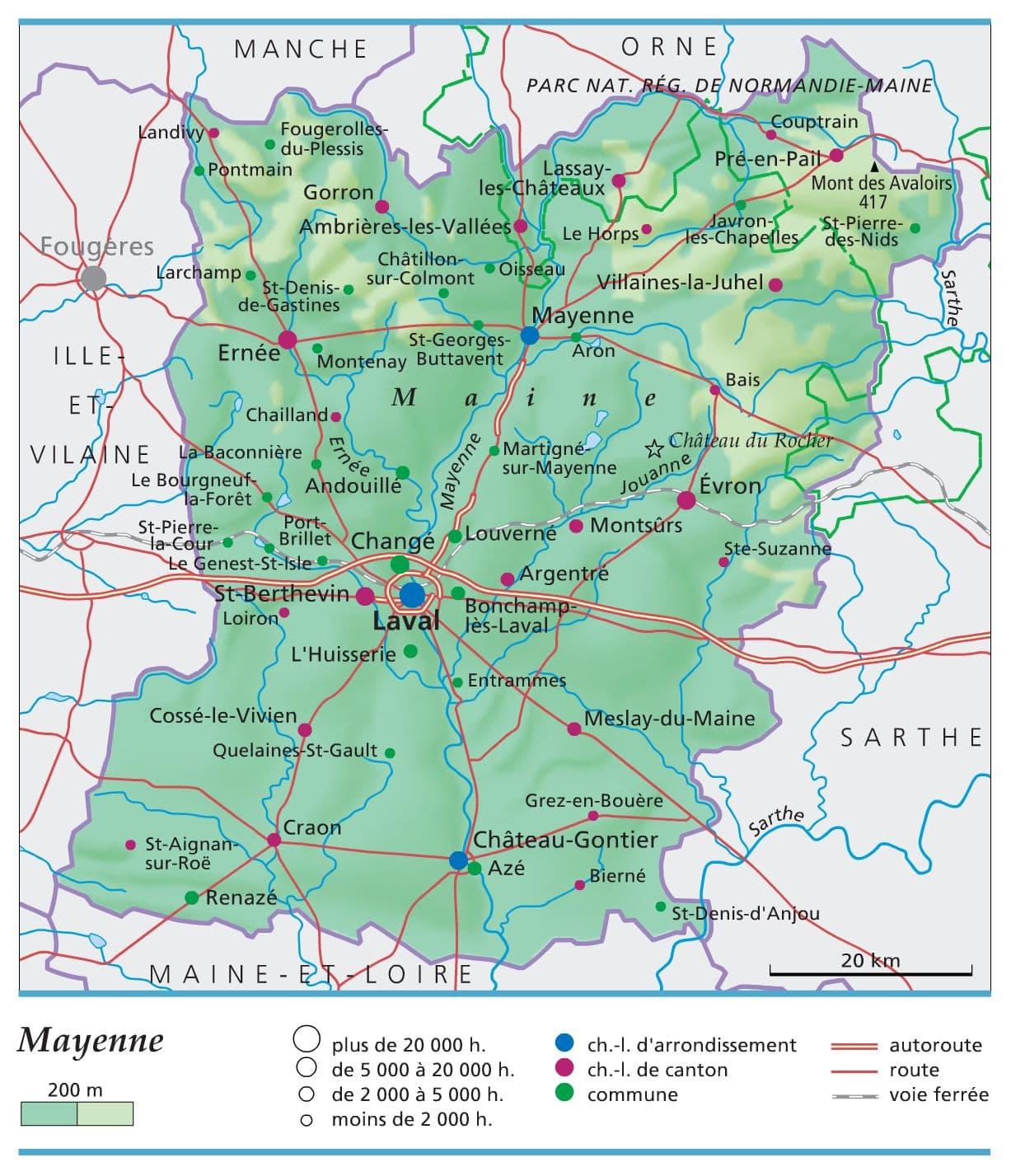 Encyclop die larousse en ligne mayenne - Les toiles de mayenne ...