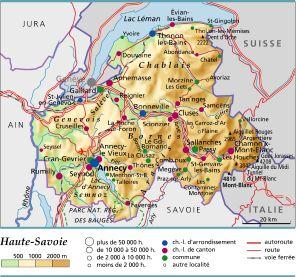 Encyclop die larousse en ligne haute savoie for Zoo haute savoie