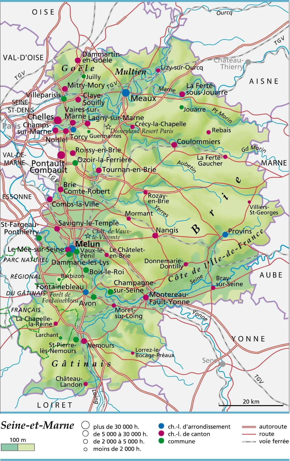 Liste Des Villes De La Brie