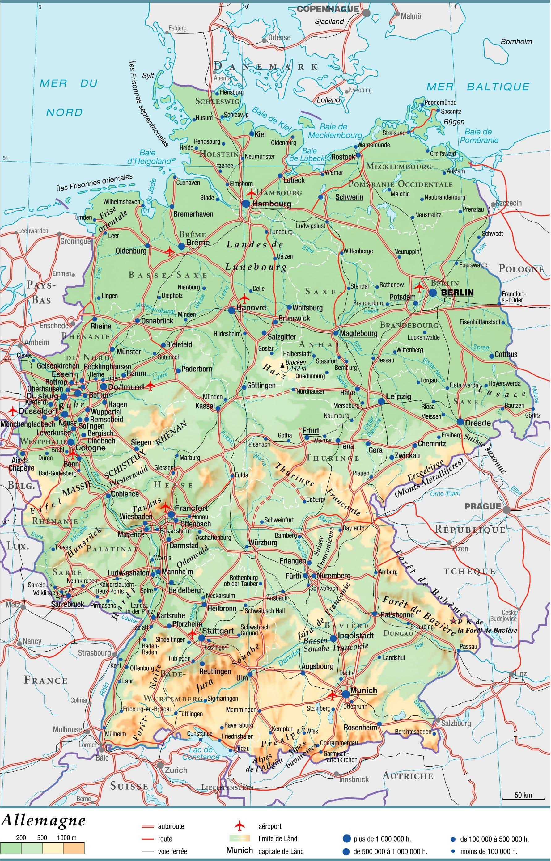 Grandes Villes De L Allemagne