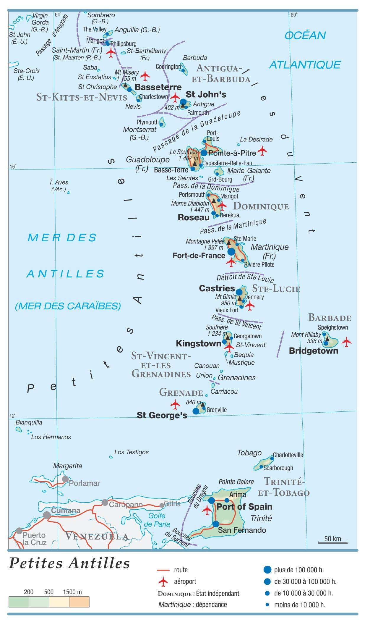 carte-des-petites-antilles