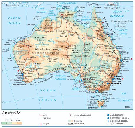 Carte Australie Sud.Encyclopedie Larousse En Ligne Australie En Anglais Australia
