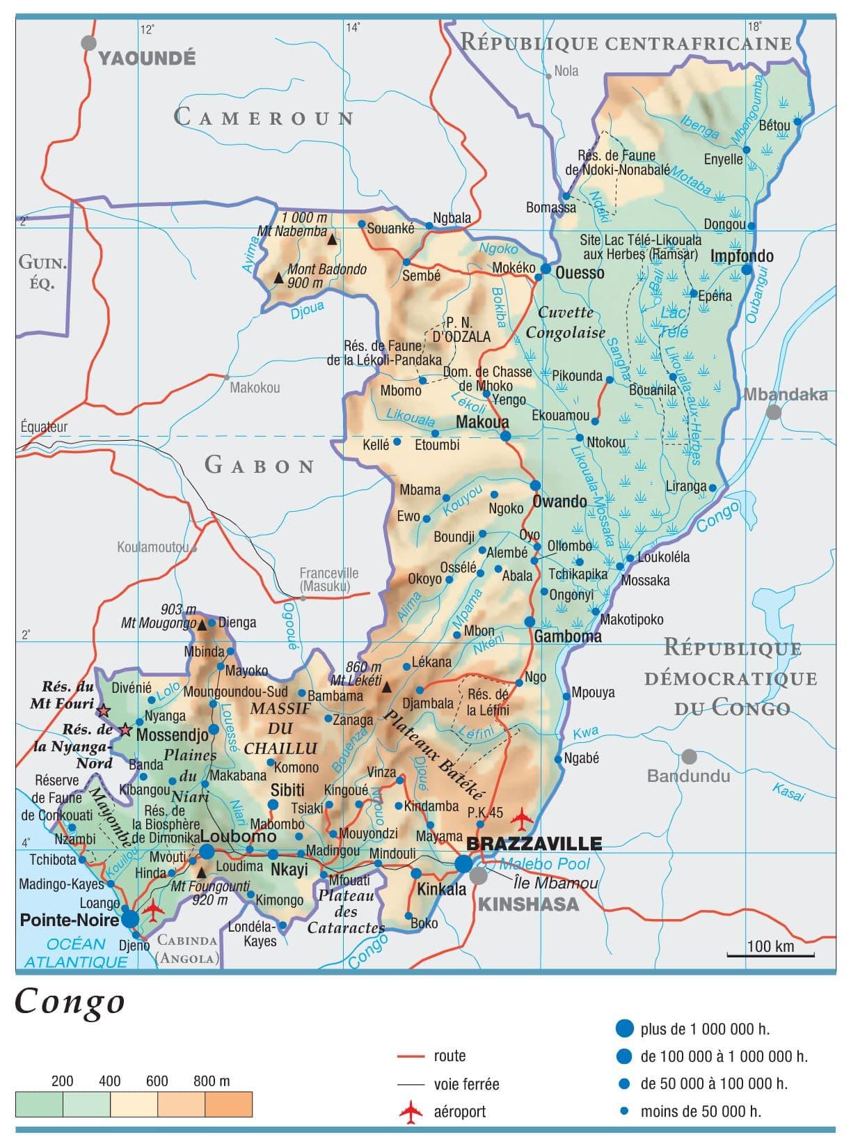Afrique Congo Brazza Histoire Audiovisuel actualité information