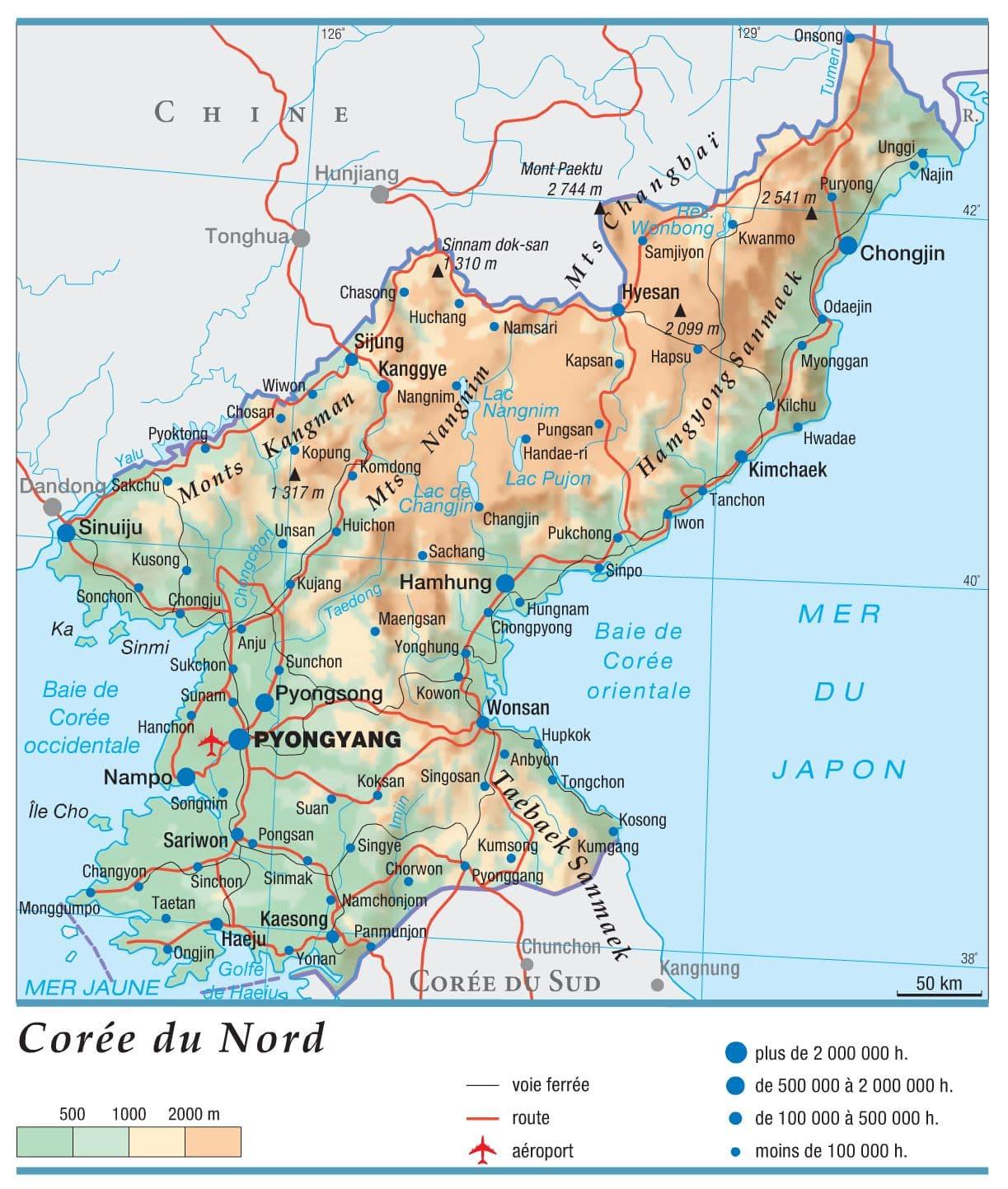 Encyclopédie Larousse en ligne   Corée du Nord