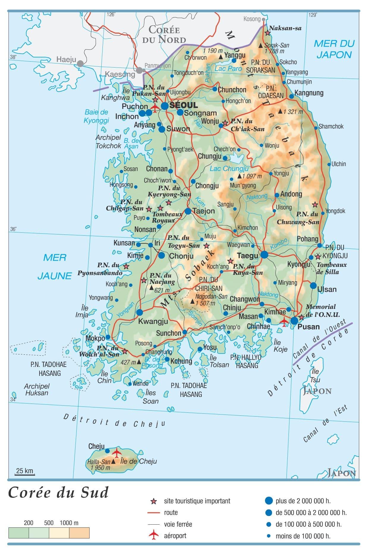 Encyclopédie Larousse en ligne   Corée du Sud
