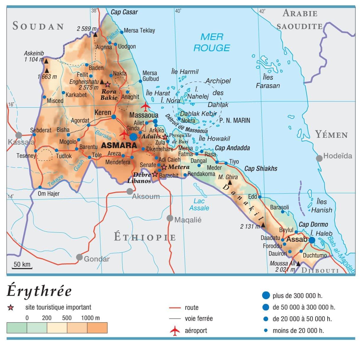 Encyclopédie Larousse en ligne   Érythrée