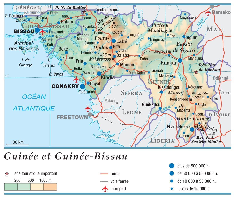 Encyclopédie Larousse en ligne   Guinée Bissau anciennement Guinée