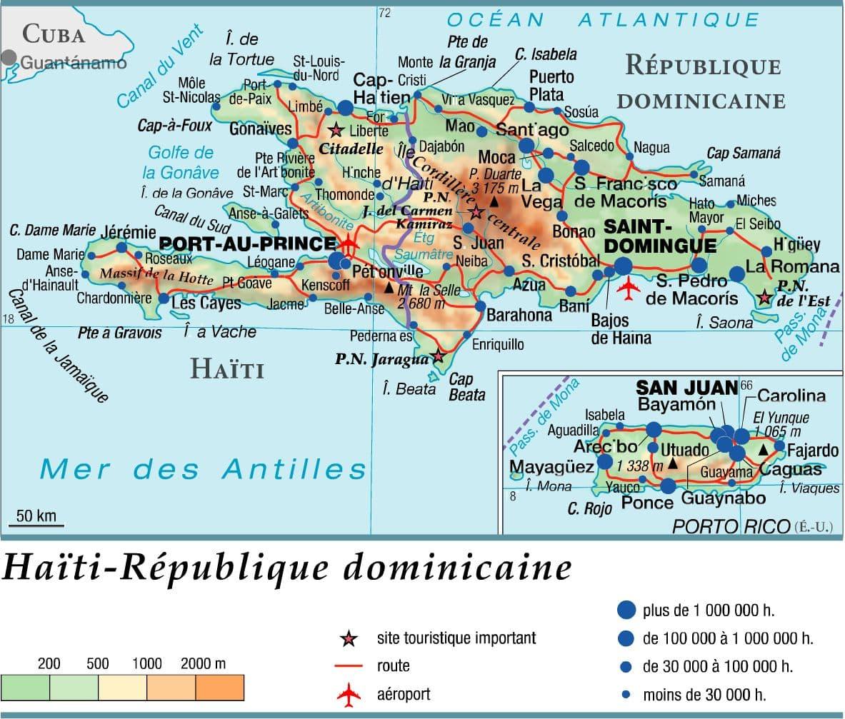 Encyclopédie Larousse en ligne   Haïti   République dominicaine