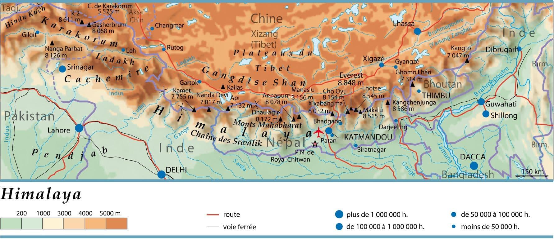 Connu Encyclopédie Larousse en ligne - Himalaya ES51