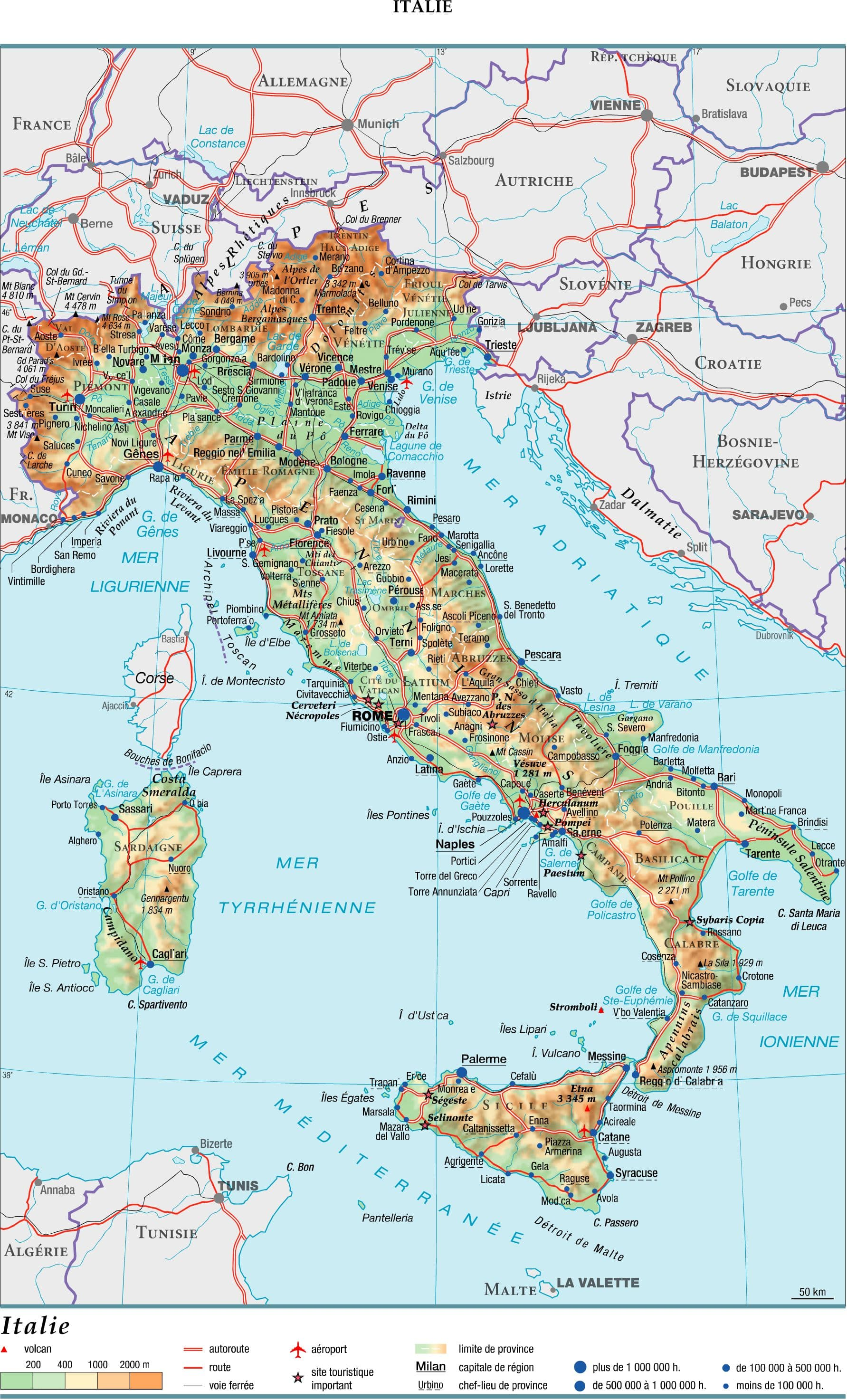 Related keywords suggestions for italie - La superficie de l italie ...