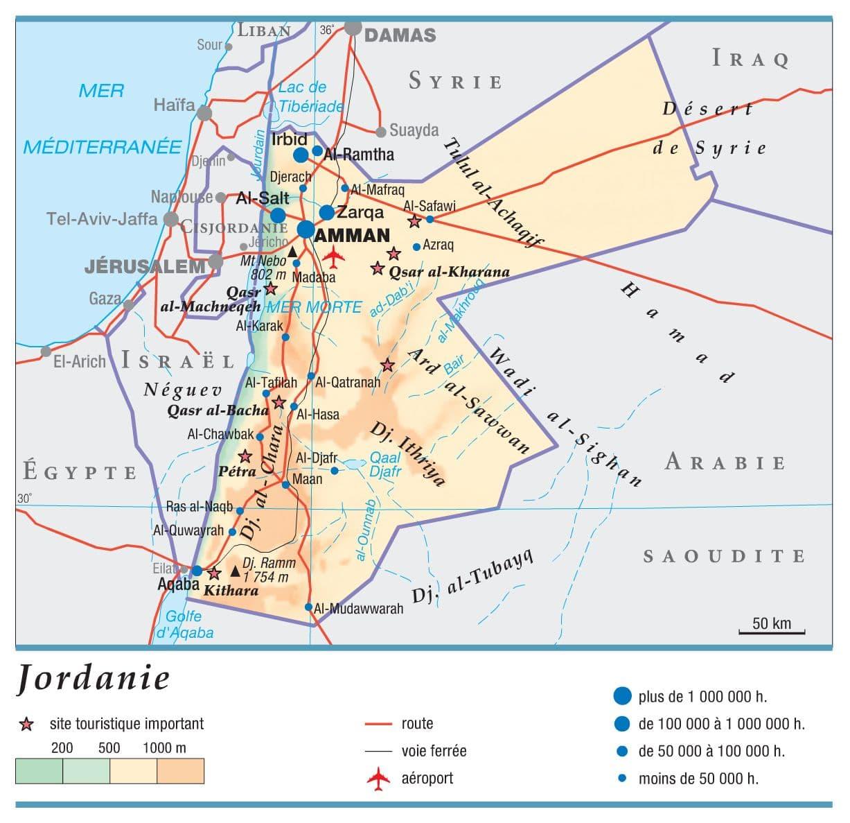 Encyclopedie Larousse En Ligne Jordanie