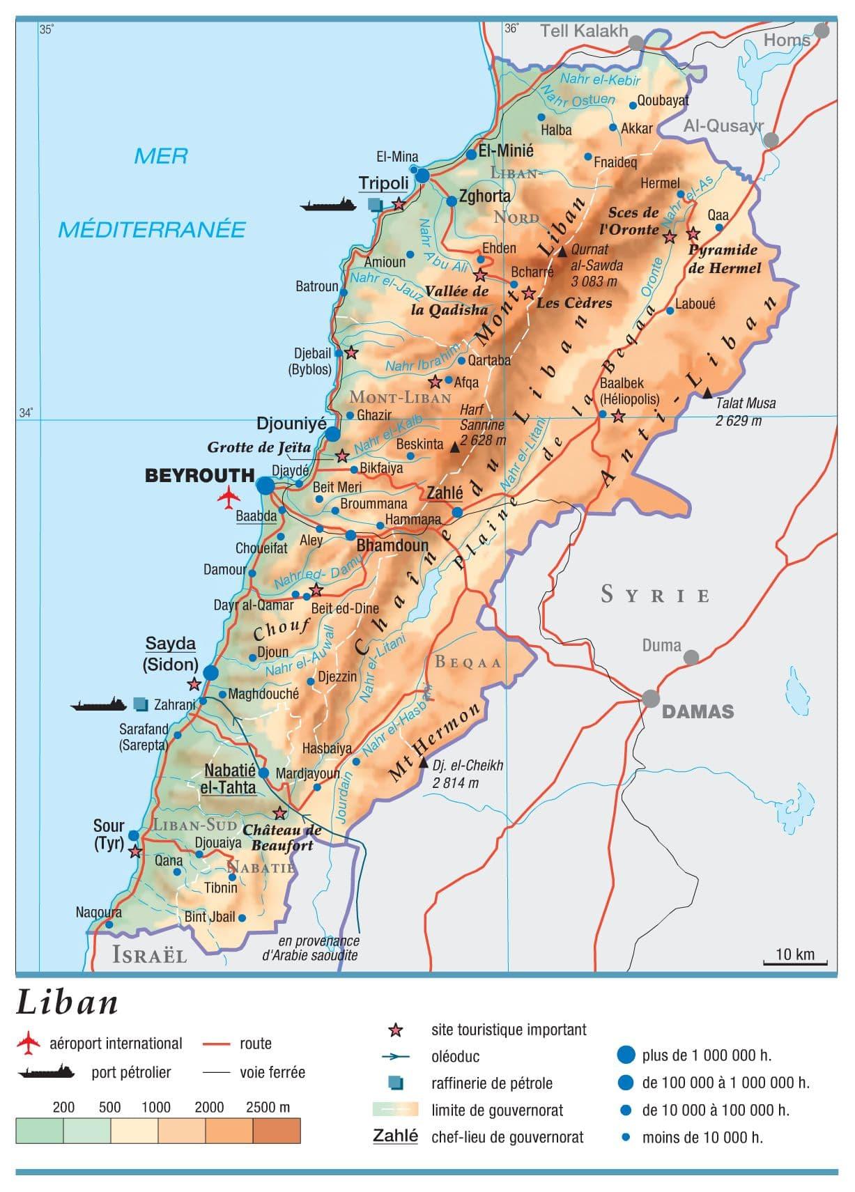 Encyclopédie Larousse en ligne - Liban