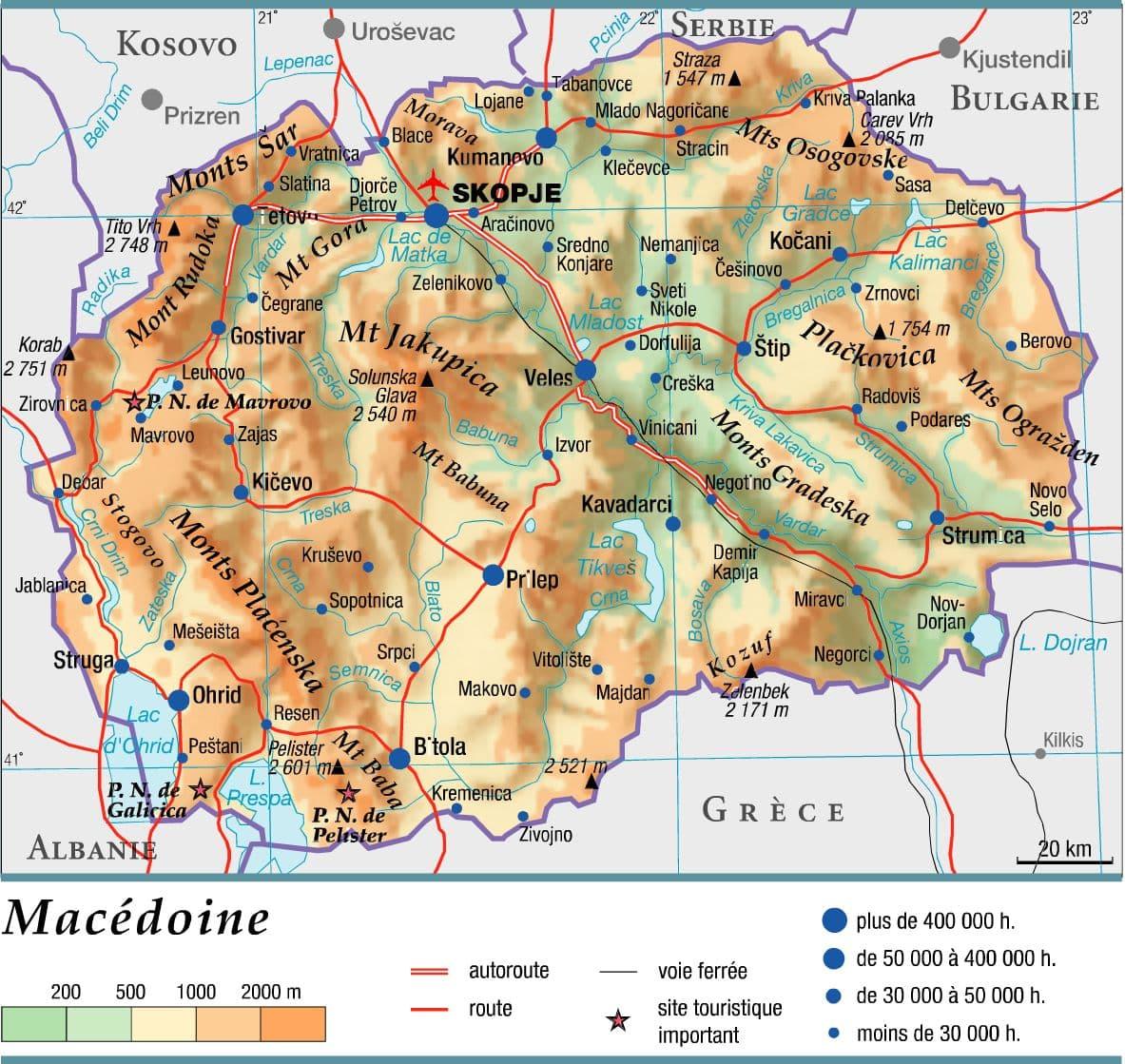 Encyclopédie Larousse en ligne   Macédoine