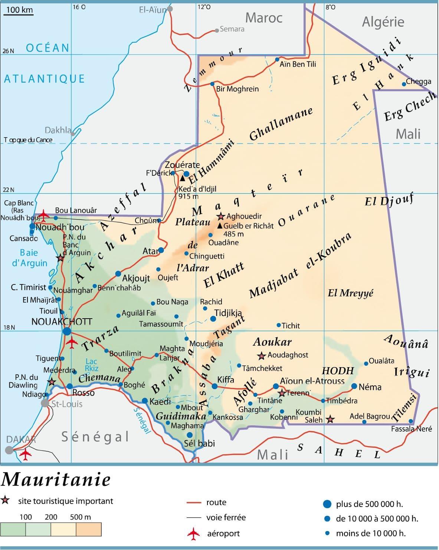 Carte De France Topographie Des Villes