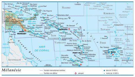 Carte Australie Et Iles Fidji.Encyclopedie Larousse En Ligne Iles Fidji Republique Des Fidji