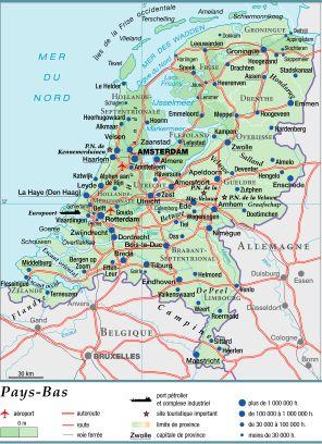 Carte Allemagne Et Hollande.Encyclopedie Larousse En Ligne Pays Bas En Neerlandais