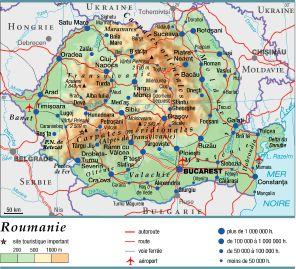 Carte Roumanie Moldavie.Encyclopedie Larousse En Ligne Roumanie En Roumain Romania