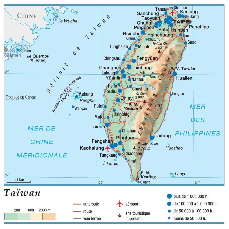 Encyclopédie Larousse en ligne - Taïwan: www.larousse.fr/encyclopedie/cartes/Taïwan/1306145