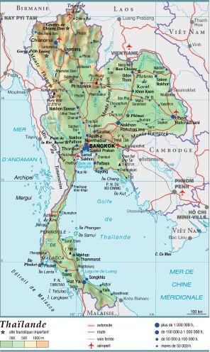 Arrestation Thailande Carte Bancaire.Encyclopedie Larousse En Ligne Thailande En Thai Muang Thai