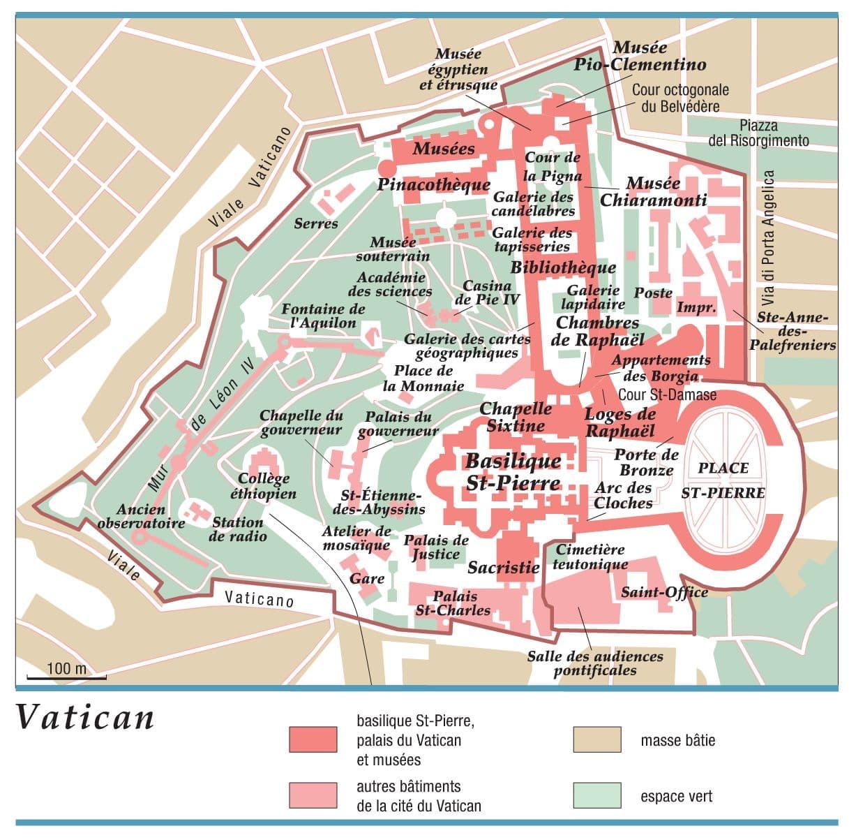 Carte vatican - Les beatitudes une secte aux portes du vatican ...