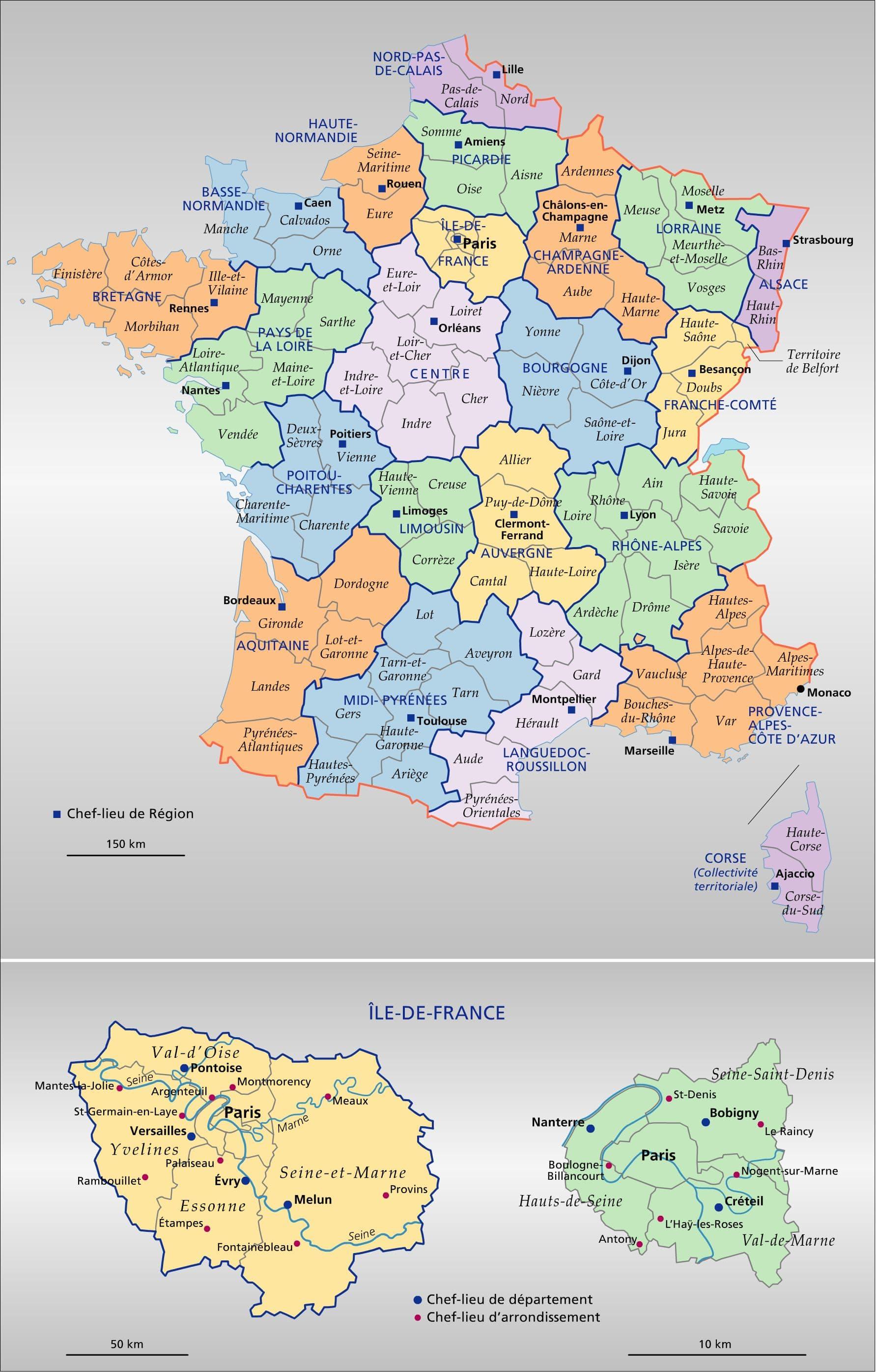 Vous avez cherché carte france departement hd - Arts et Voyages