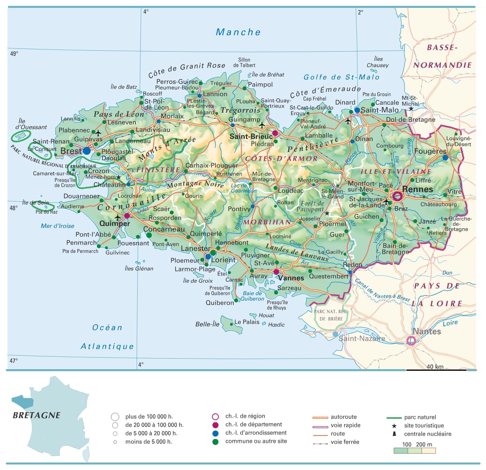 Encyclop die larousse en ligne bretagne - Office de tourisme de grande bretagne en france ...