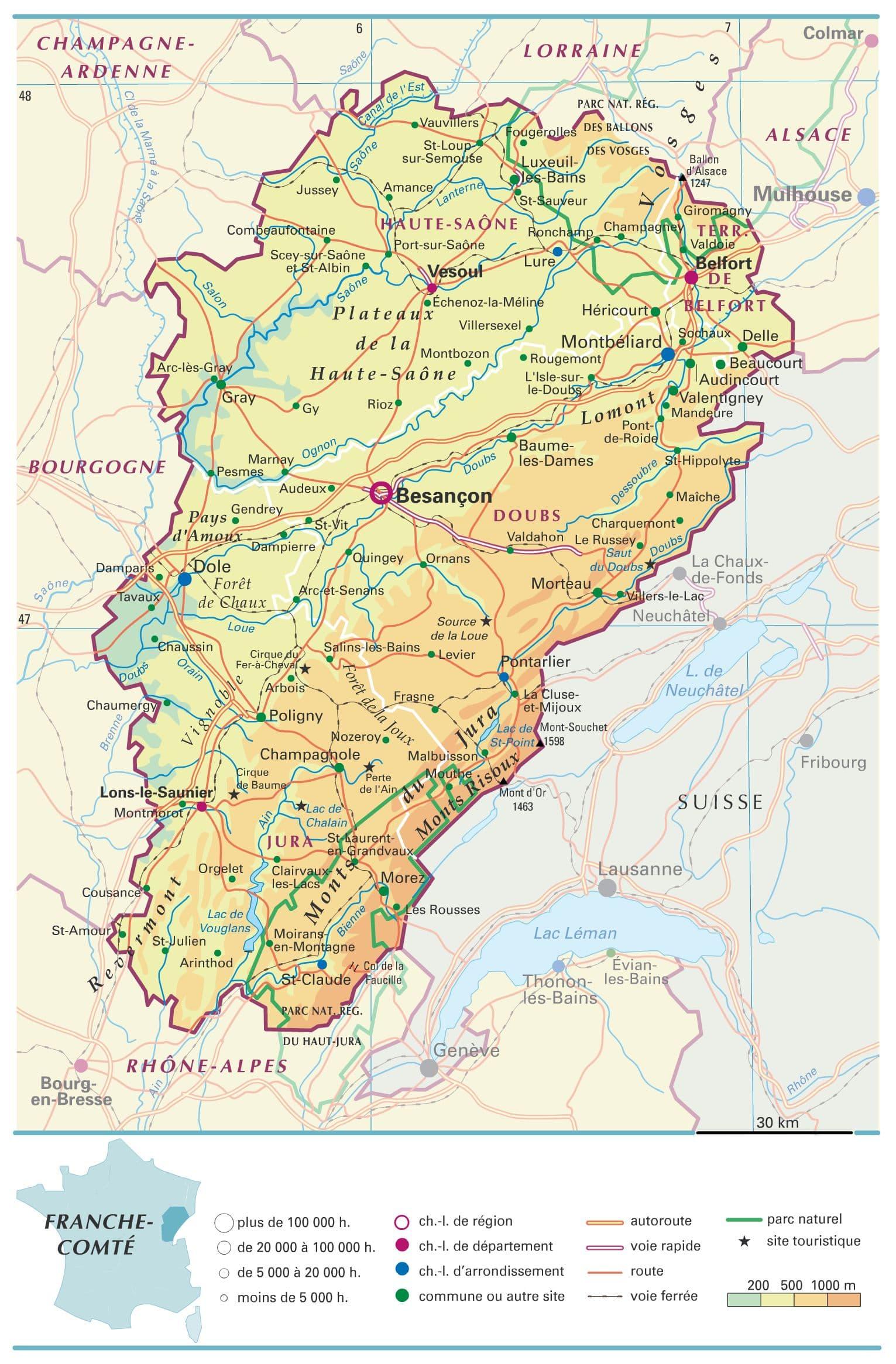 Encyclopédie Larousse en ligne   Franche Comté