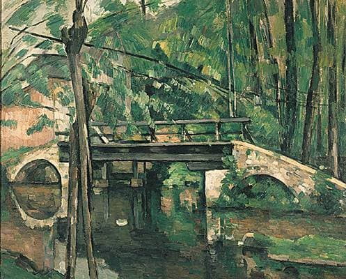 Paul Cézanne, le Pont de Maincy