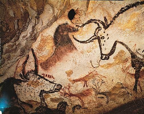 Peinture rupestre de la grotte de Lascaux