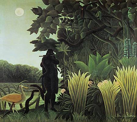Henri Rousseau, la Charmeuse de serpents
