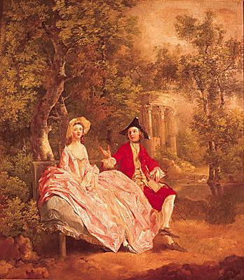 Thomas Gainsborough, Conversation dans un parc