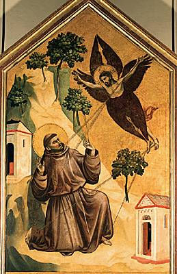Giotto,  i Saint François d Assise recevant les stigmates /i