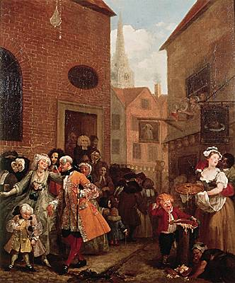 William Hogarth, <i>Noon</i>