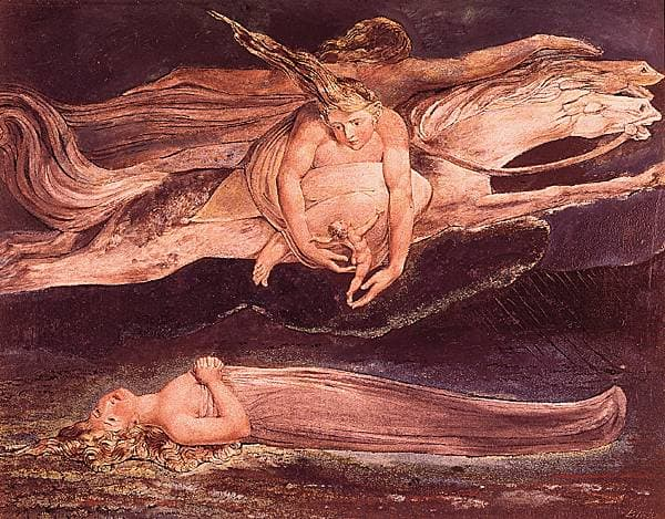 William Blake, <i>la Pitié</i>