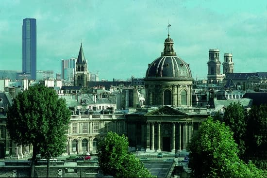 Paris, l'Institut de France