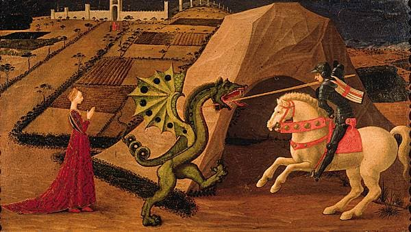 Paolo Uccello, Saint Georges et le dragon