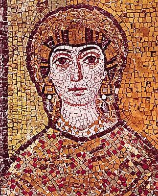 Encyclop die larousse en ligne italie art les for Peinture mosaique