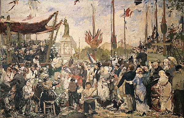 Alfred Roll, le 14 Juillet 1880