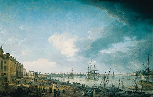 Joseph Vernet, <i>le Port de Bordeaux</i>