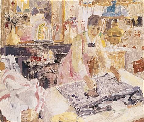 Rik Wouters, la Repasseuse