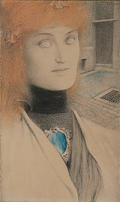 Fernand Khnopff, Who shall deliver me ?