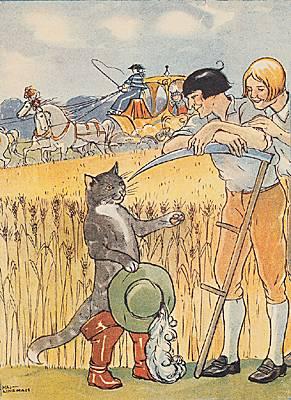 Encyclop die larousse en ligne charles perrault - Dessin du chat botte ...