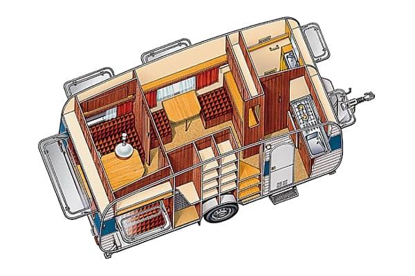 encyclop die larousse en ligne am nagement int rieur d 39 une caravane. Black Bedroom Furniture Sets. Home Design Ideas