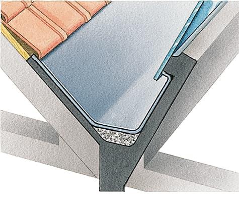 chenaux toiture en tableau isolant thermique. Black Bedroom Furniture Sets. Home Design Ideas