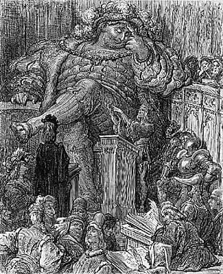 Gustave Doré, illustration pour la Vie inestimable du Grand Gargantua