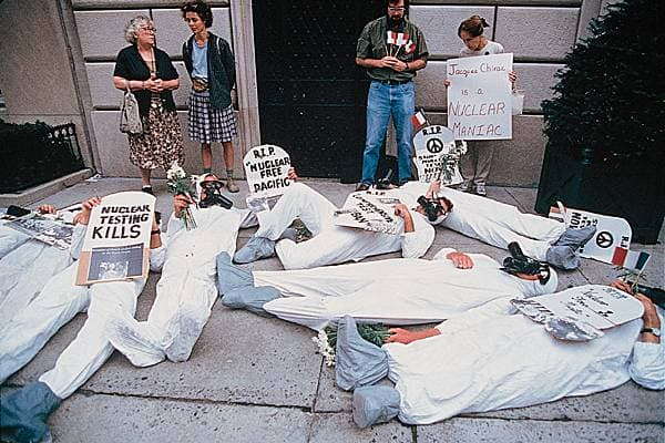 Greenpeace, New York, 1995