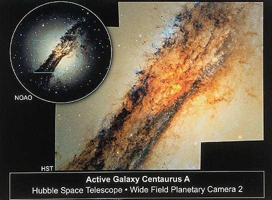 Galaxie active NGC 5128